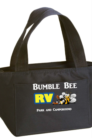 Bumble Bee Small Cooler Bag - Black