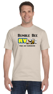 Bumble Bee T Shirt - Short Sleeve - 50/50 Blend