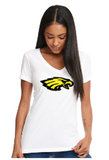 White Vneck NHS Cheer Shirt
