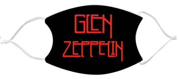 Glen Zeppelin Face Cover