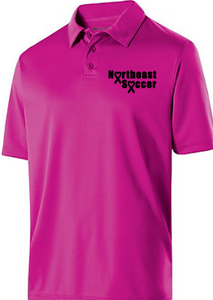 2019 NE Soccer Pink Supporter Polo