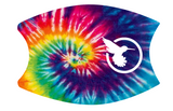 SBSI20 - Facecover - Tye Dye with white SB Logo