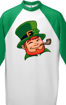 Leprechaun Head - T Shirt