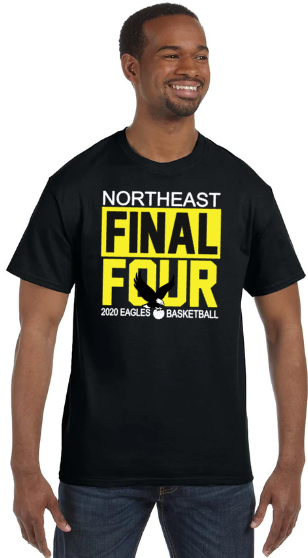 NHS 2020 FINAL FOUR BASKETBALL T SHIRT