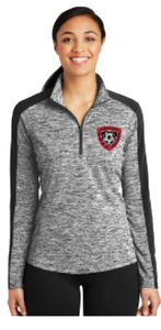 2021 GBHS Sport-Tek PosiCharge1/4-Zip Pullover Heather Colorblock
