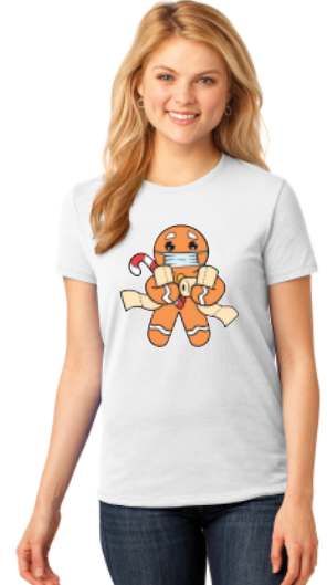 2020 Gingerbread Man - Christmas Shirt
