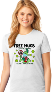 Free Hugs (Not Really) Grinch - Christmas Shirt