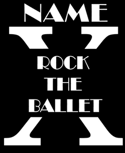 Sweet Bird Productions - OFFICIAL ROCK THE BALLET 10 YEAR TOUR SHIRT