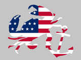 CGB - Crab & Anchor USA Flag shirt