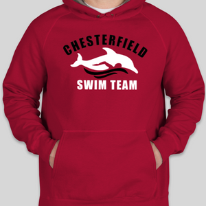 Chesterfield Swim Team Hoodie Sweatshirts