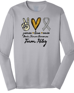 Support Team Riley 2021 Performance Long Sleeve T Shirt