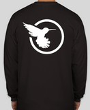 Sweetbird - Long Sleeve Vertical T Shirt with back logo