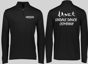 Lindale Dance Warm Up 1/4 Zip Pullover