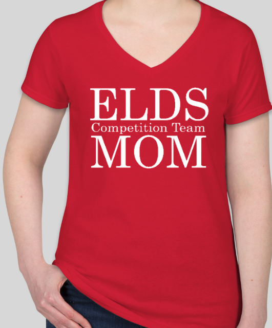 ELDS Competition MOM Team T Shirt (ladies cut)