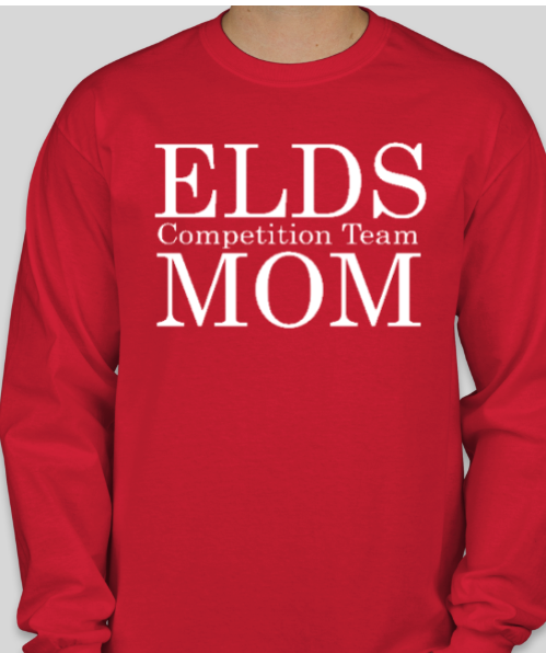 ELDS Long Sleeve Dance MOM Competition Shirt