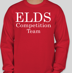 ELDS Long Sleeve Dance Competition Shirt