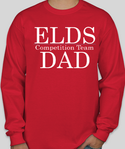 ELDS Long Sleeve Dance DAD Competition Shirt