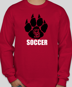 2019 GB Soccer Long Sleeve Cotton Shirt