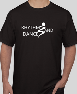 Rhythm and Dance Black Studio Short Sleeve Shirt