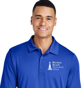 Blue Performance Polo Shirt