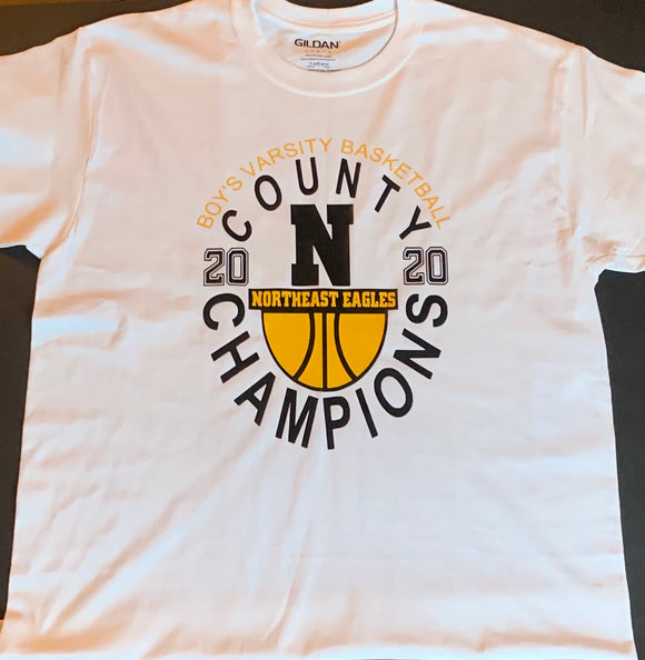 2020 NHS Basketball Champions Shirt