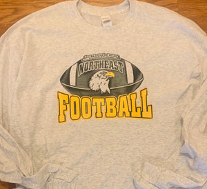 2019 NHS Football - Ball shirt long sleeve