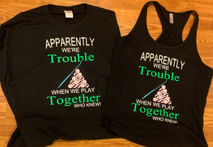 Trouble pools shirts