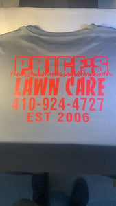 Price landscaping merch order
