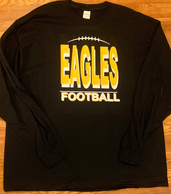 2019 NHS Football - Letter shirt long sleeve