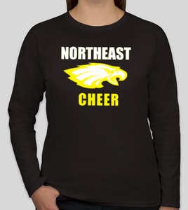 Northeast Cheer long sleeve shirt