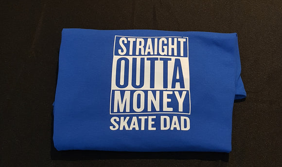 Straight Outta Money Dance Dad - T - Shirt