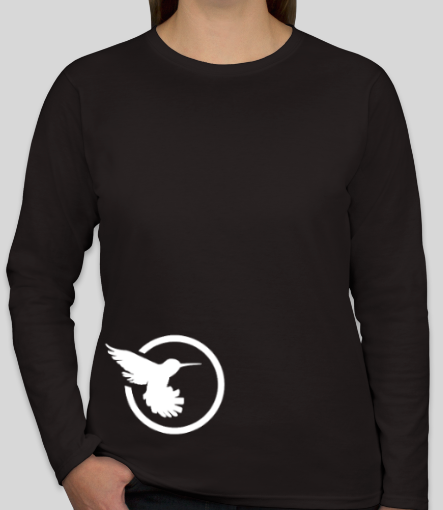 Sweetbird - Ladies Long Sleeve Simple Bird T Shirt