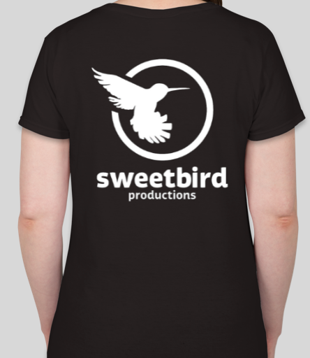 Sweetbird Ladies V Neck Short Sleeve T