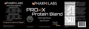 PRO-iX Post-Workout Protein Blend