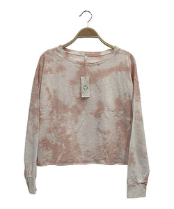 TIE DYED COTTON PULLOVER LONG SLEEVE