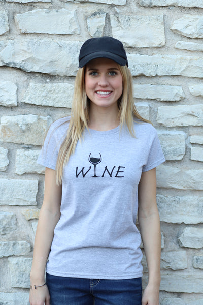 Anvil WINE Ladies Short Sleeve Scoop Neck