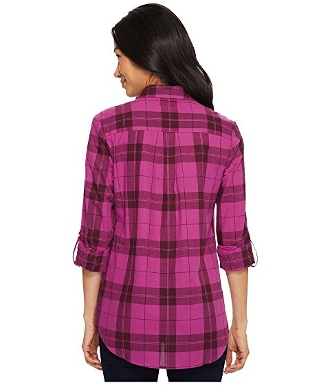 U.S. POLO ASSN. Long Sleeve Two-Pocket Plaid Shirt