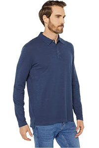Salt Point Long Sleeve Slub Jersey Polo