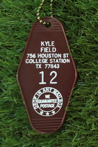 Hotel Key Tag - College Station,Texas
