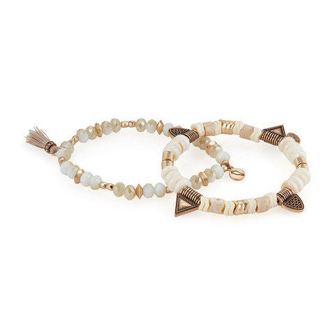 Chloe + Isabel  African Plains Stretch Bracelet Set