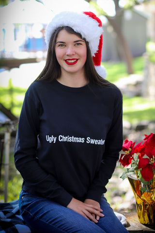 Comfort Colors UGLY CHRISTMAS SWEATER