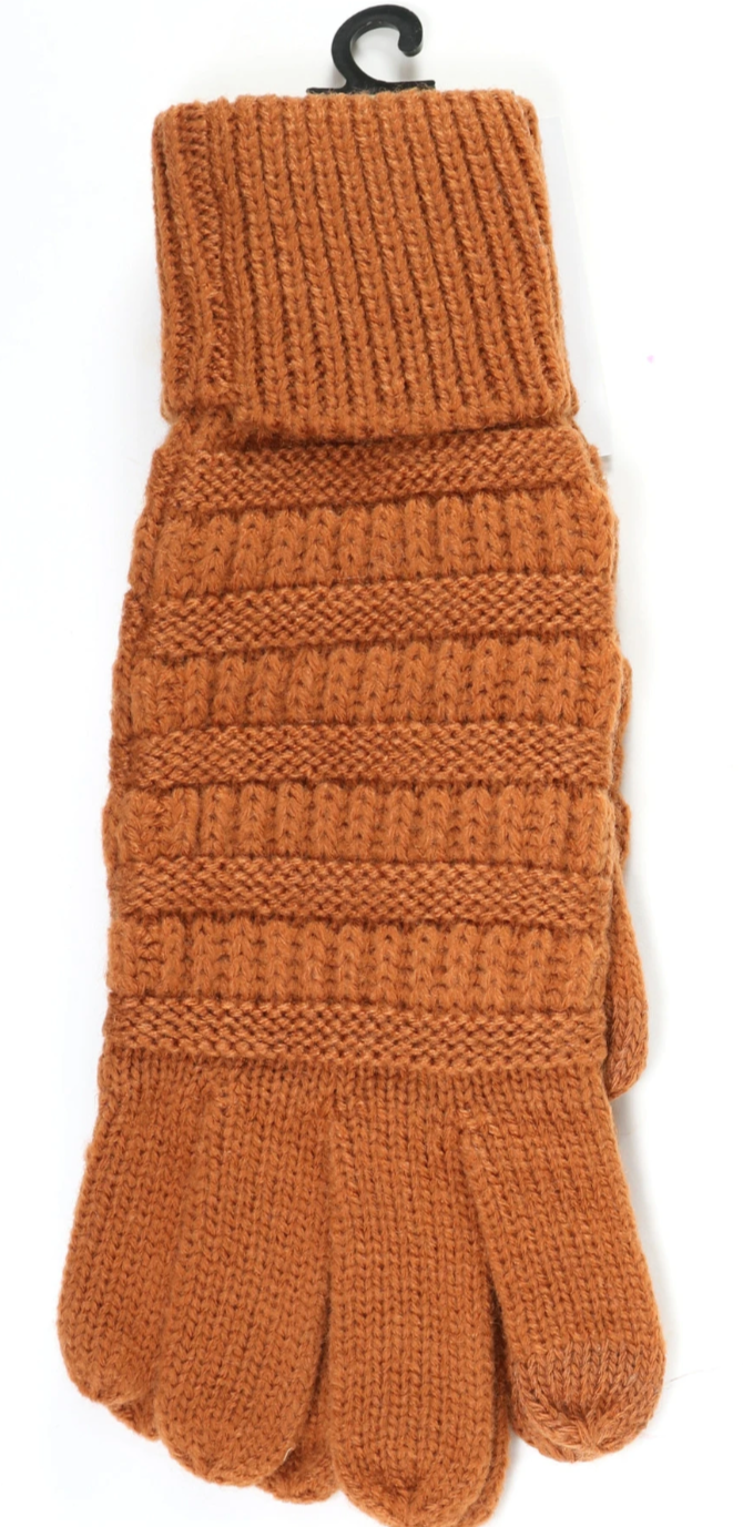 C.C  Knitted SmartTip Gloves