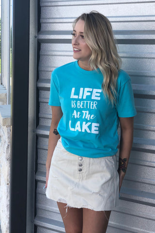 Next Level Apparel LIFE IS BETTER AT THE LAKE