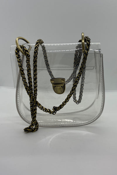 Clear Stadium Approved Crossbody