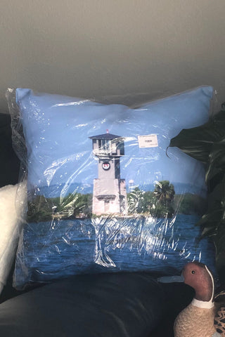 HSB Lighthouse Throw Pillow