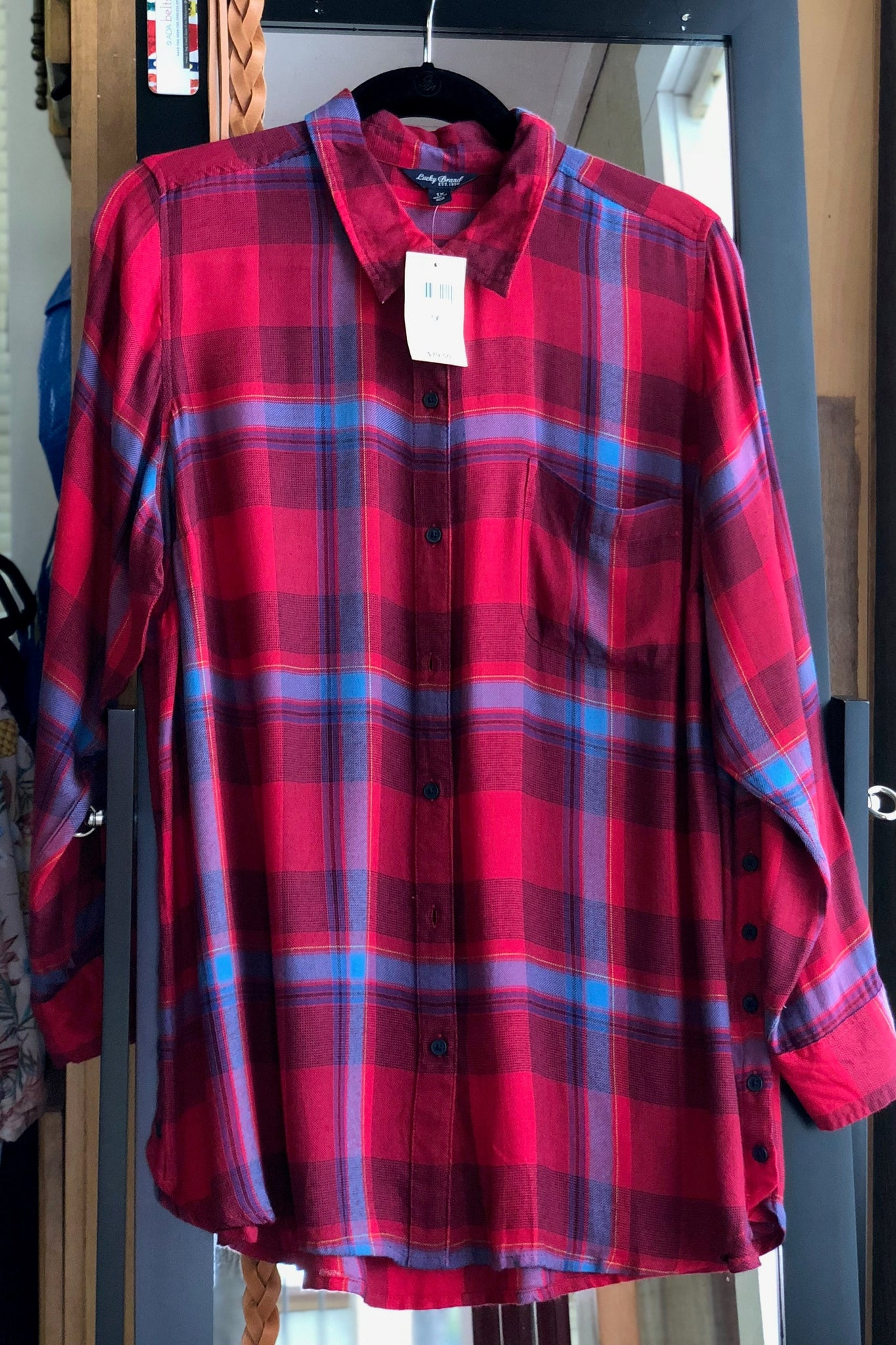 Lucky Brand Plus Size Button Side Body
