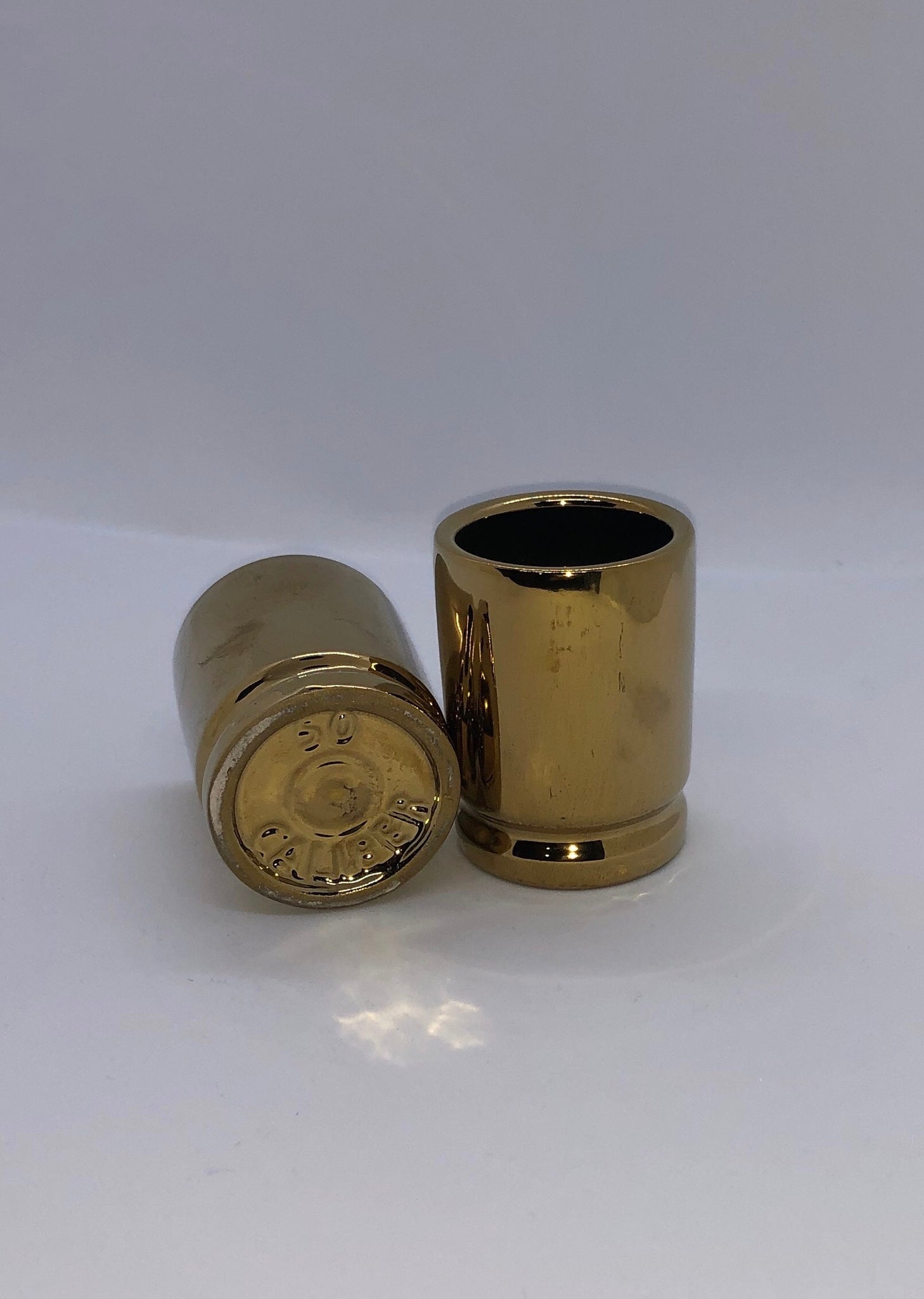 50 Caliber Bullet Shot Glasses, Set of 2