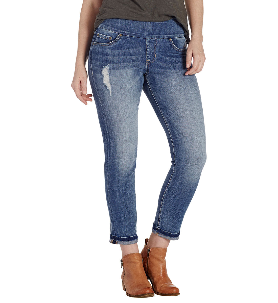 JAG JEANS AMELIA SLIM ANKLE - River Wash
