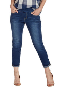 JAG JEANS AMELIA SLIM ANKLE - Medium Indigo