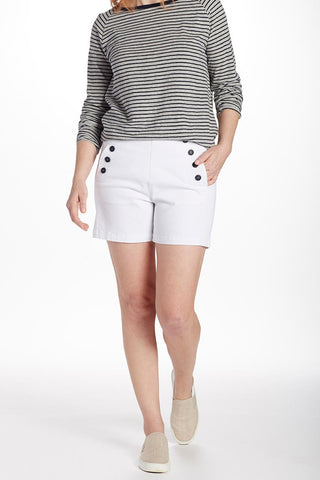 JAG JEANS SAILOR SHORT White